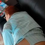 Backdoor Pantyhose